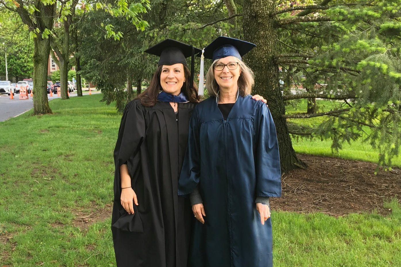 Christine Stallard and Haley Sankey